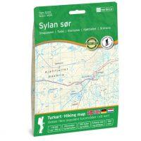 Wandelkaart 3024 Topo 3000 Sylan Sor - zuid | Nordeca
