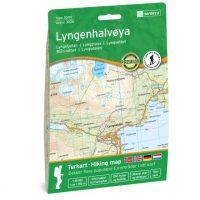 Wandelkaart 3026 Topo 3000 Lyngenhalvoya | Nordeca