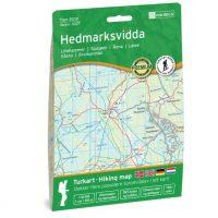 Wandelkaart 3027 Topo 3000 Hedmarksvidda | Nordeca