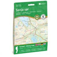 Wandelkaart 3028 Topo 3000 Senja sor - zuid | Nordeca