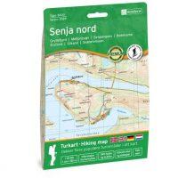Wandelkaart 3029 Topo 3000 Senja Nord - noord | Nordeca