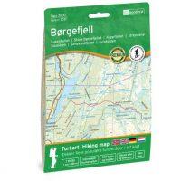 Wandelkaart 3031 Topo 3000 Børgefjell - Borgefjell | Nordeca
