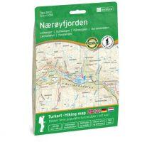 Wandelkaart 3038 Topo 3000 Nærøyfjorden - Naeroyfjorden | Nordeca