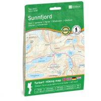 Wandelkaart 3039 Topo 3000 Sunnfjord | Nordeca