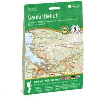 Wandelkaart 3040 Topo 3000 Gaularfjellet | Nordeca