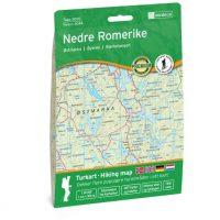 Wandelkaart 3044 Topo 3000 Nedre Romerike | Nordeca