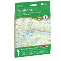 Wandelkaart 3046 Topo 3000 Hovden sør - zuid | Nordeca