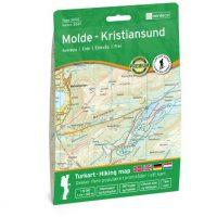 Wandelkaart 3047 Topo 3000 Molde - Kristiansund | Nordeca